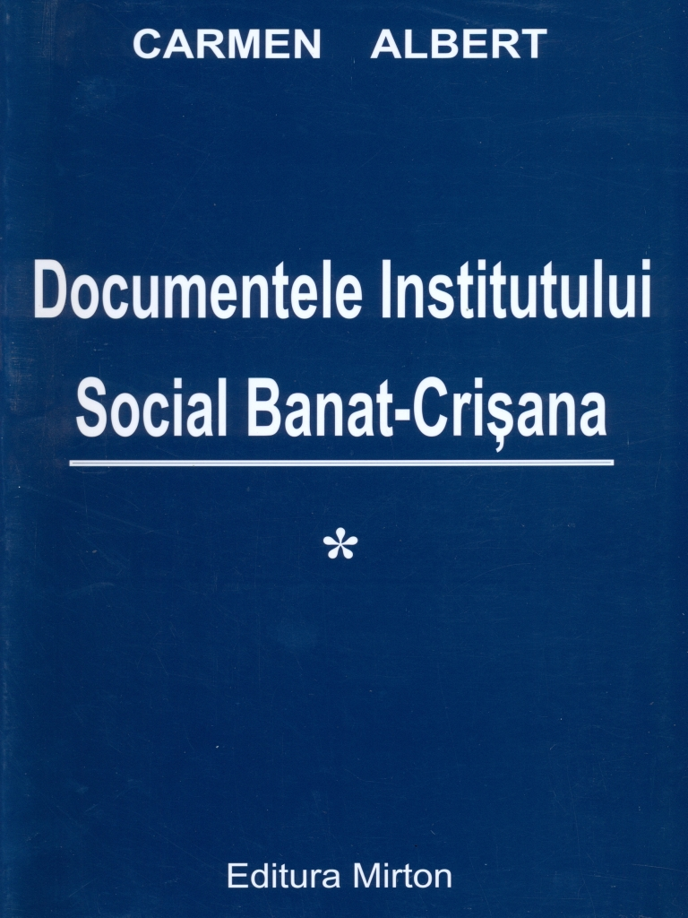 Documentele Institutului Social Banat-Crisana I