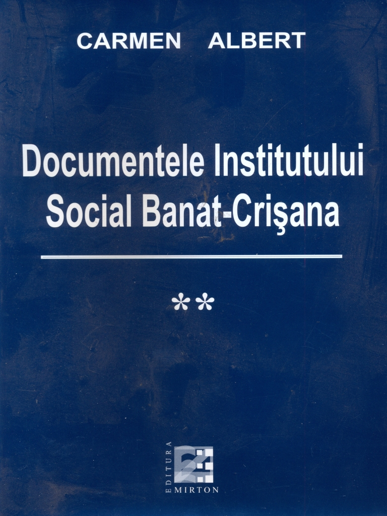 Documentele Institutului Social Banat-Crisana II